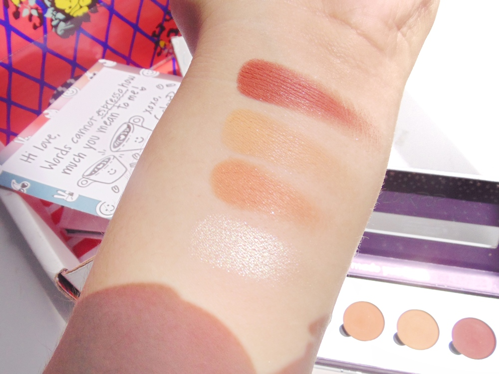 colourpop lokey swatches