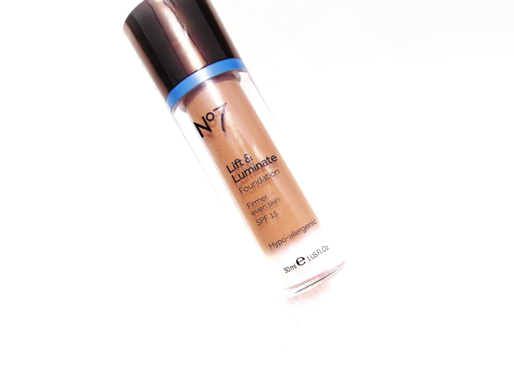 no. 7 lift luminate foundation